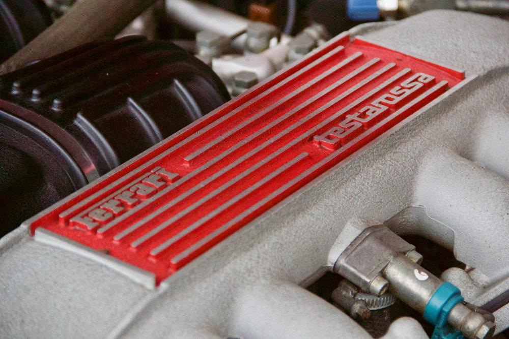 1988 Ferrari Testarossa RHD Rosso Corsa with Blu Scuro #36
