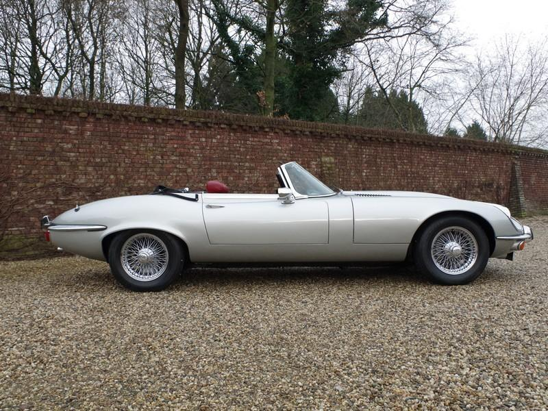 Jaguar E-type series 3 V12 convertible manual gearbox, with factory AC (1973) #44