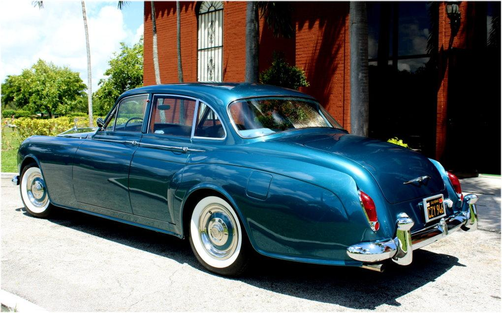 1964 ROLLS-ROYCE SILVER CLOUD III CONTINENTAL JAMES YOUNG SCV100 SPORT SEDAN #LSGT635C ONE OF 2 LEFT DRIVES BUILT #11
