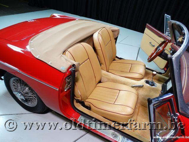 MG B Roadster Red '67 #167