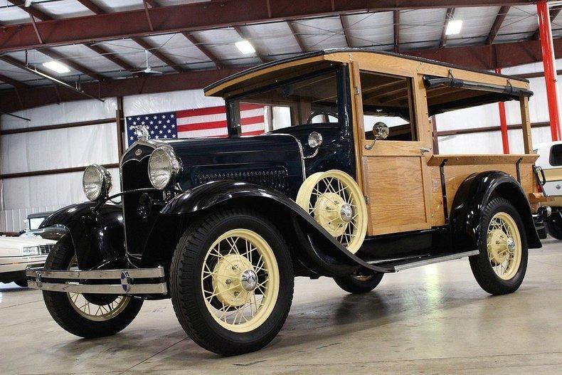 1931 Ford Model A Huckster #77