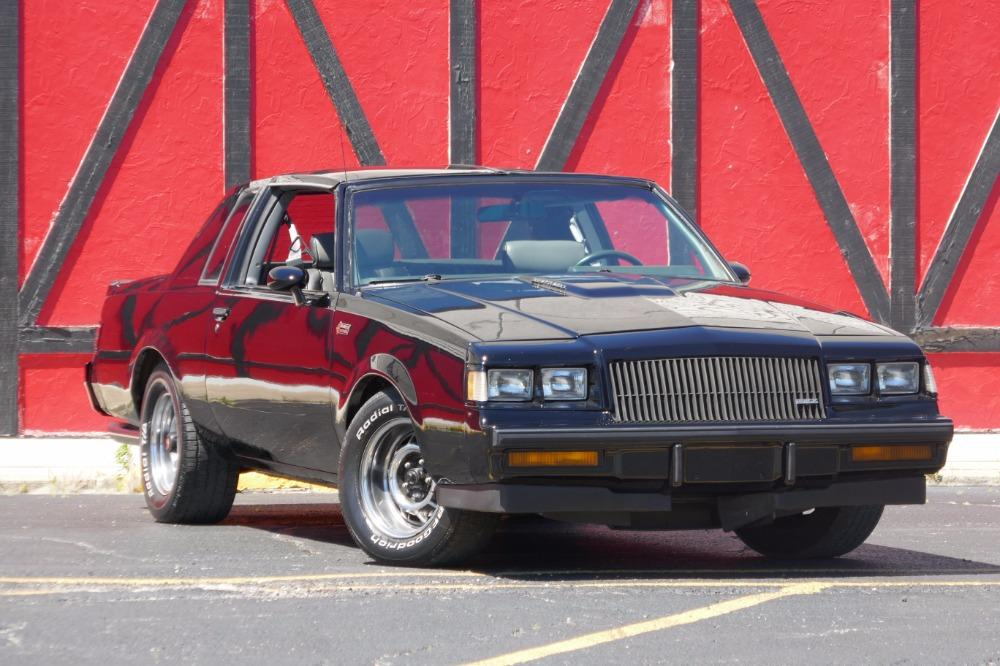 1987 Buick Grand National -AFFORDABLE ONE OWNER WITH T TOPS-SEE VIDEO Stock # 87381JP for sale near Mundelein, IL | IL Buick Dealer #0