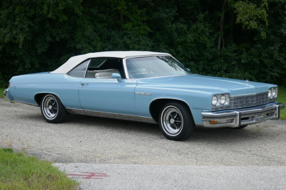 1975 Buick LeSabre -PRICE DROP - CONVERTIBLE -SUPER LOW MILES- NEW PAINT 2017-SEE VIDEO Stock # 75ILKF for sale near Mundelein, IL | IL Buick Dealer #1