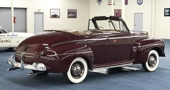 1946 FORD SUPER DELUXE 8 CONVERTIBLE #1