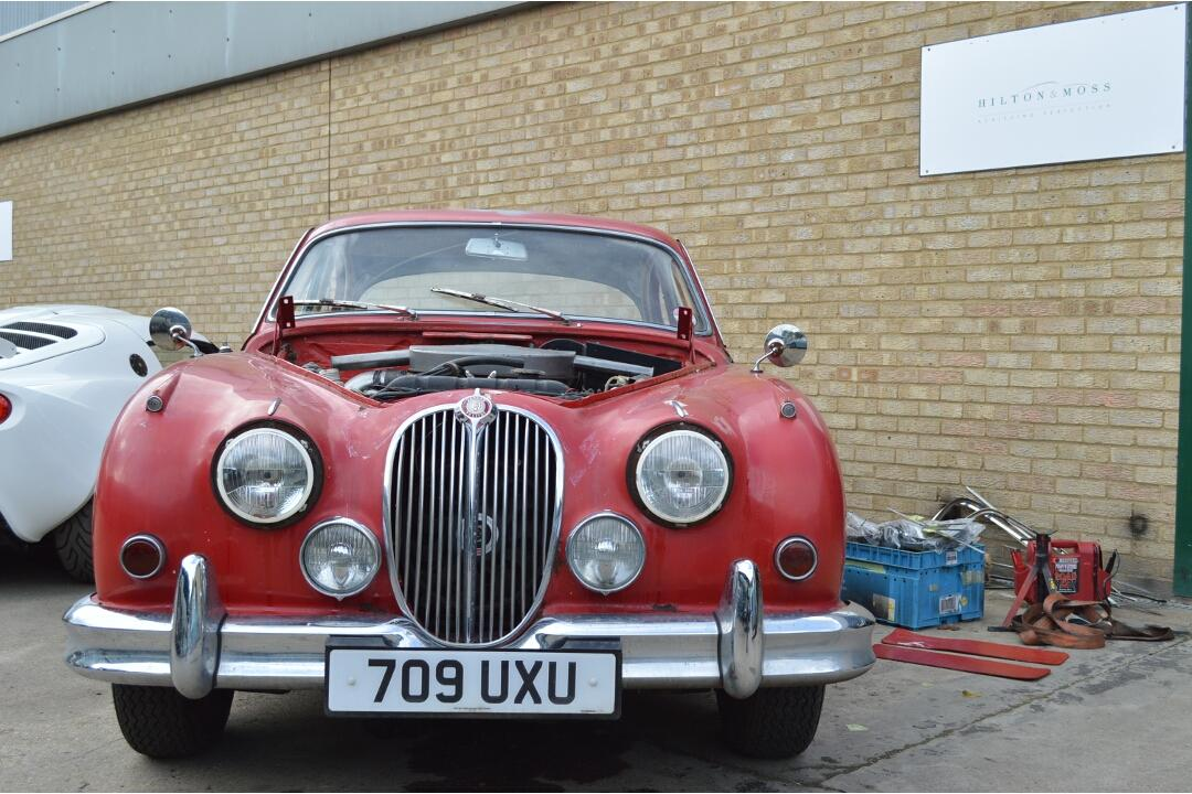 1962 Jaguar Mk2 3.8 Manual Restoration Project #1