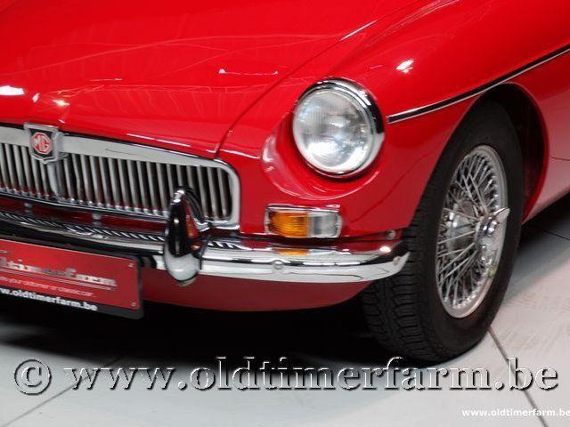MG B Roadster Red '67 #113