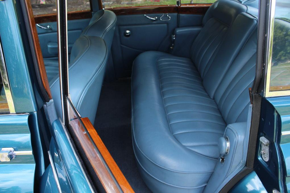 1964 ROLLS-ROYCE SILVER CLOUD III CONTINENTAL JAMES YOUNG SCV100 SPORT SEDAN #LSGT635C ONE OF 2 LEFT DRIVES BUILT #3