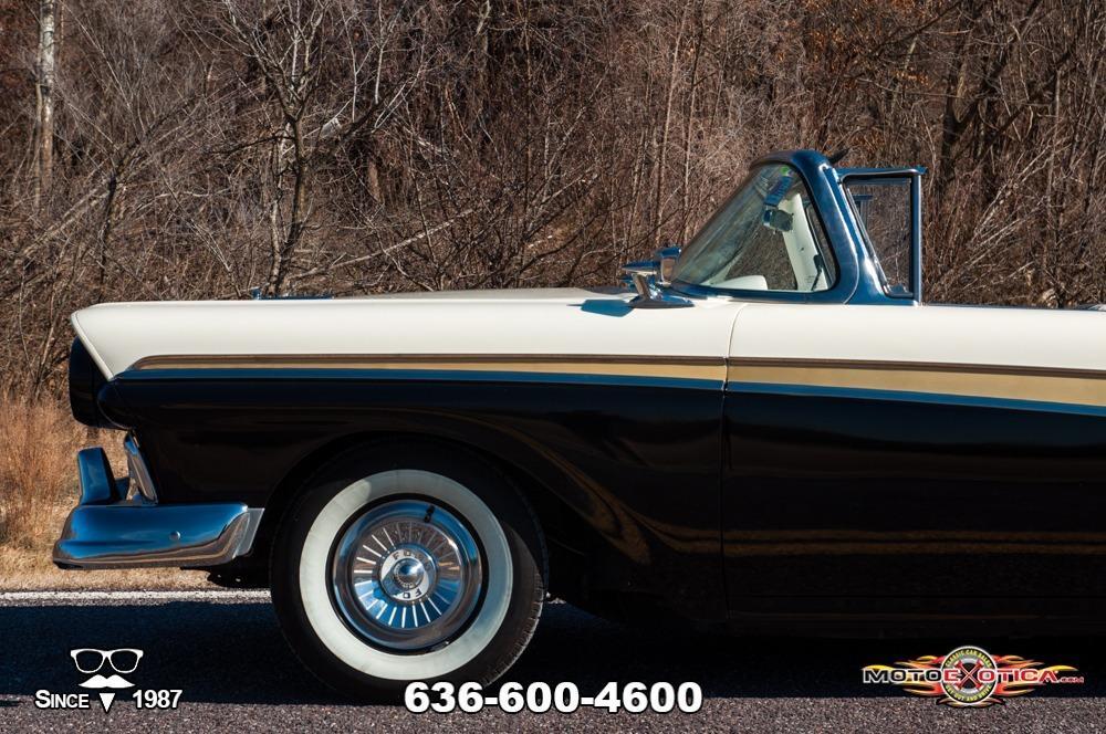 1957 Ford Fairlane 500 Sunliner Restomod #48