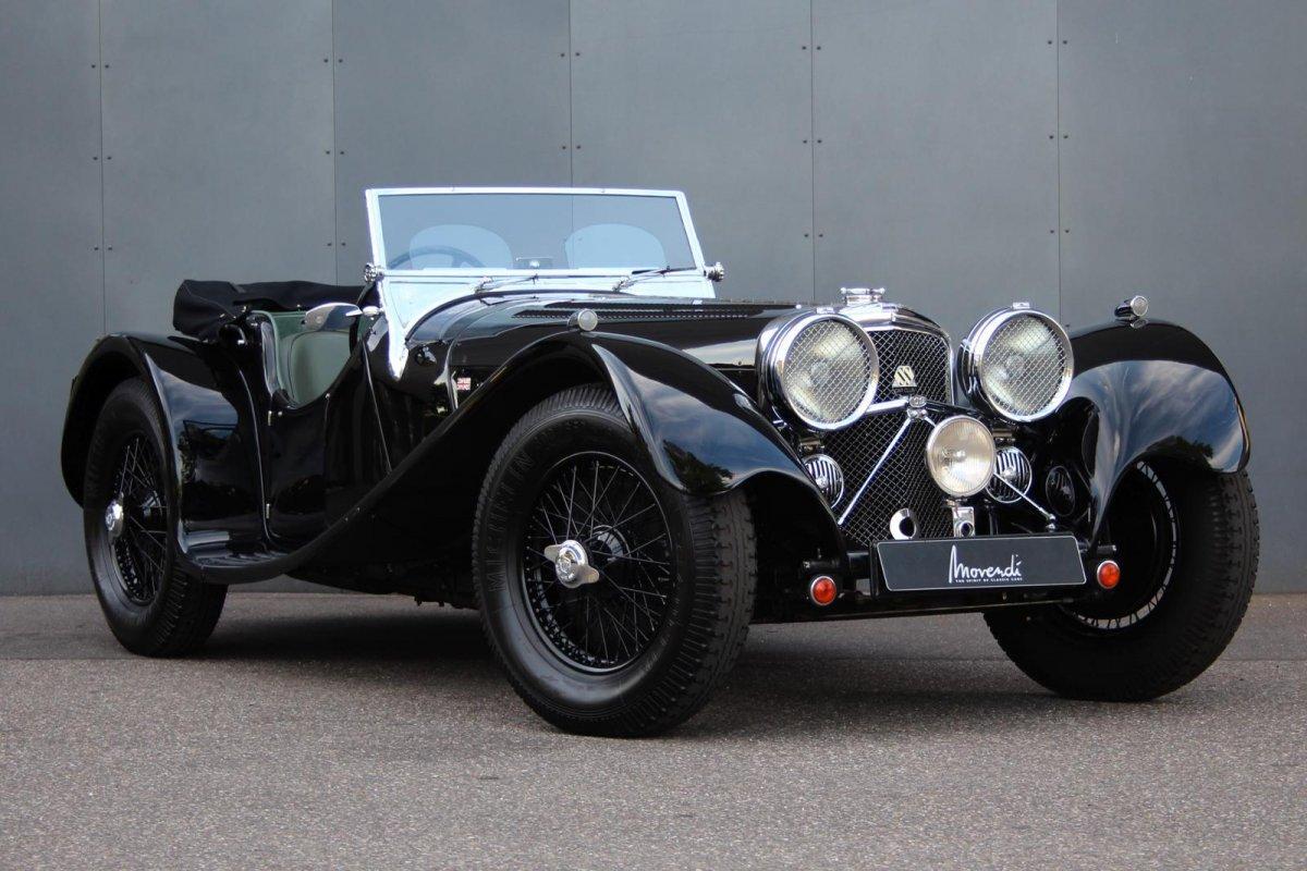 Jaguar SS 100 2,5 litre #0