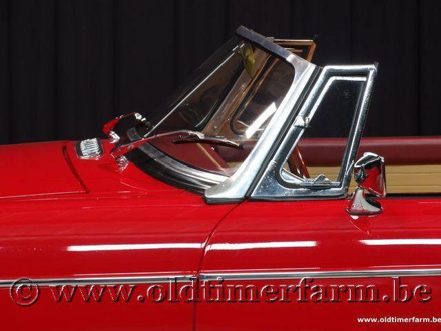 MG B Roadster Red '67 #117