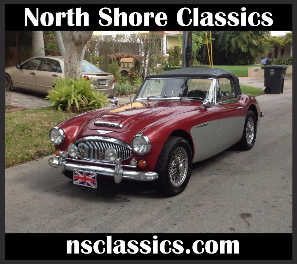 1967 Austin Healey 3000 2 OWNER CONVERTIBLE- CALI CAR- DUAL EXHAUST Stock # 5467FLTD for sale near Mundelein, IL | IL Austin Healey Dealer #0