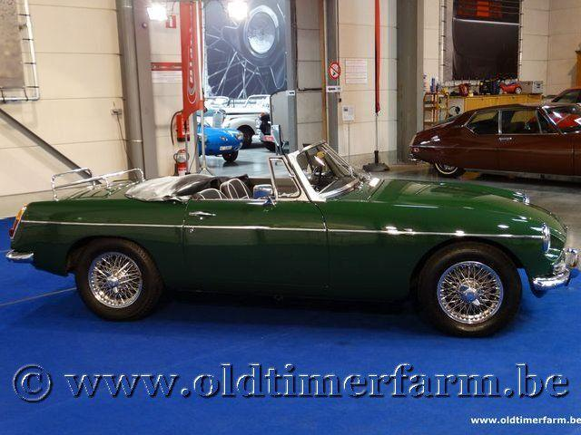 MG B Roadster Green '66 #6