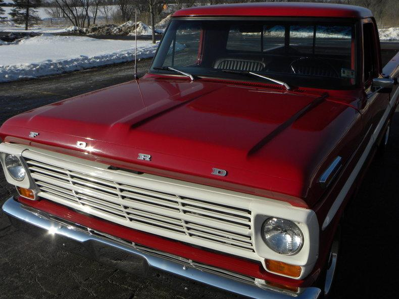 1969 Ford F100 Deluxe Styleside Pickup #8