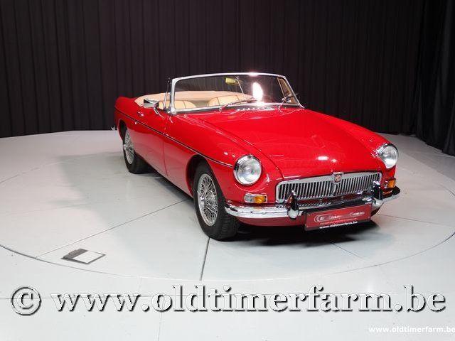 MG B Roadster Red '67 #49