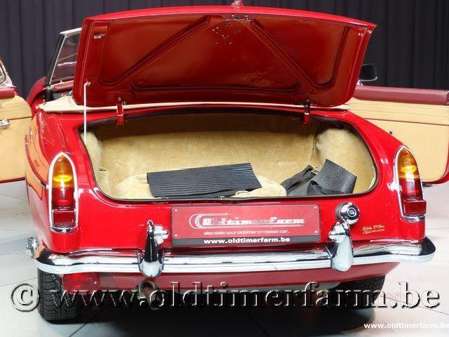 MG B Roadster Red '67 #136