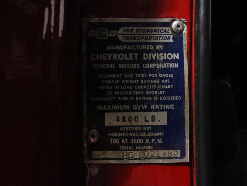 1954 Chevrolet 3100 #55
