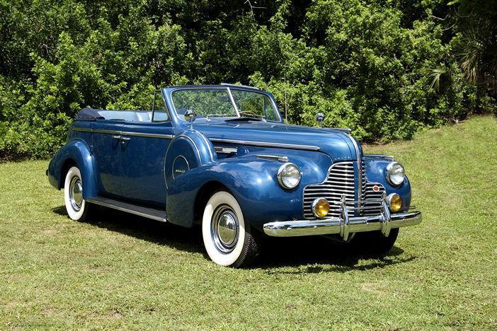 1940 BUICK CENTURY CONVERTIBLE SEDAN - Vintage Motors of Sarasota Inc. #0