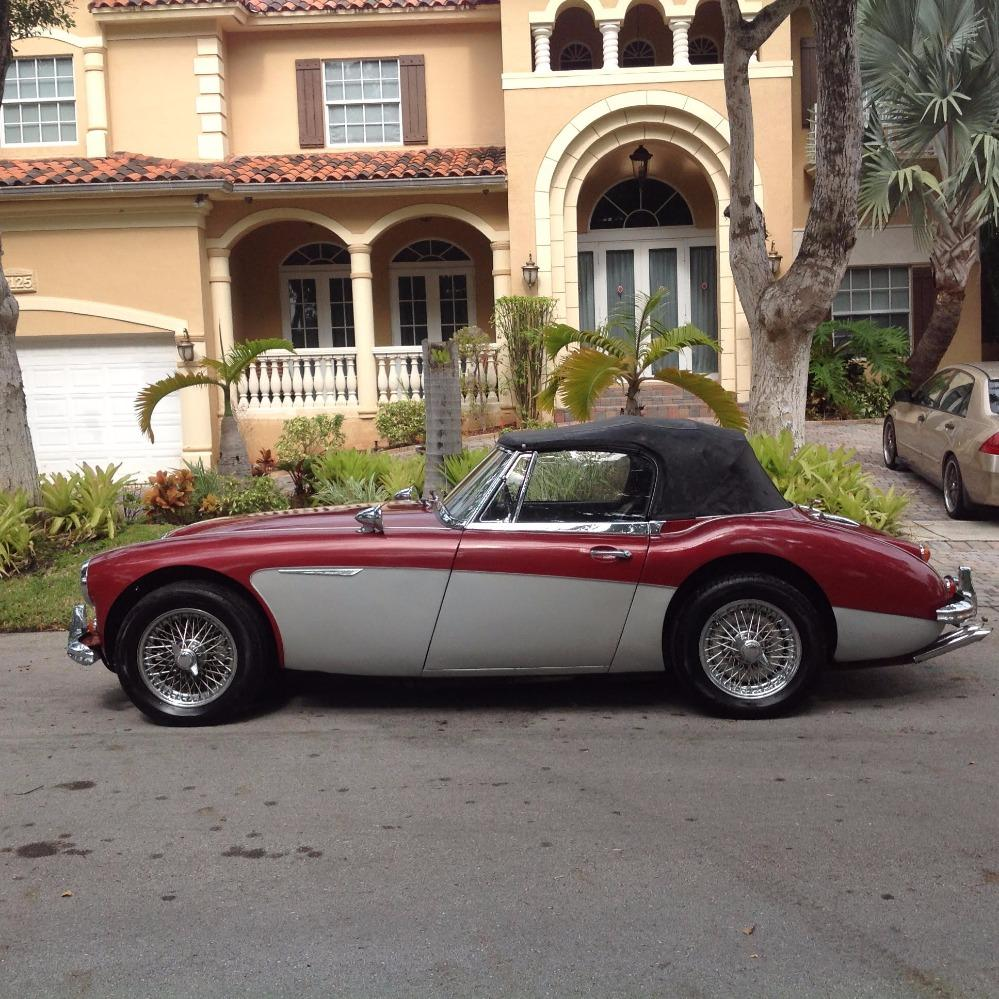 1967 Austin Healey 3000 2 OWNER CONVERTIBLE- CALI CAR- DUAL EXHAUST Stock # 5467FLTD for sale near Mundelein, IL | IL Austin Healey Dealer #1