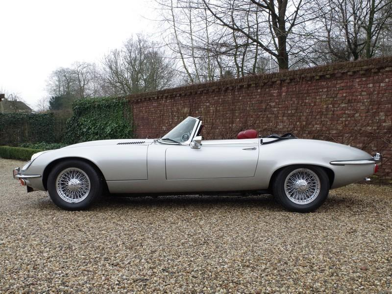 Jaguar E-type series 3 V12 convertible manual gearbox, with factory AC (1973) #56