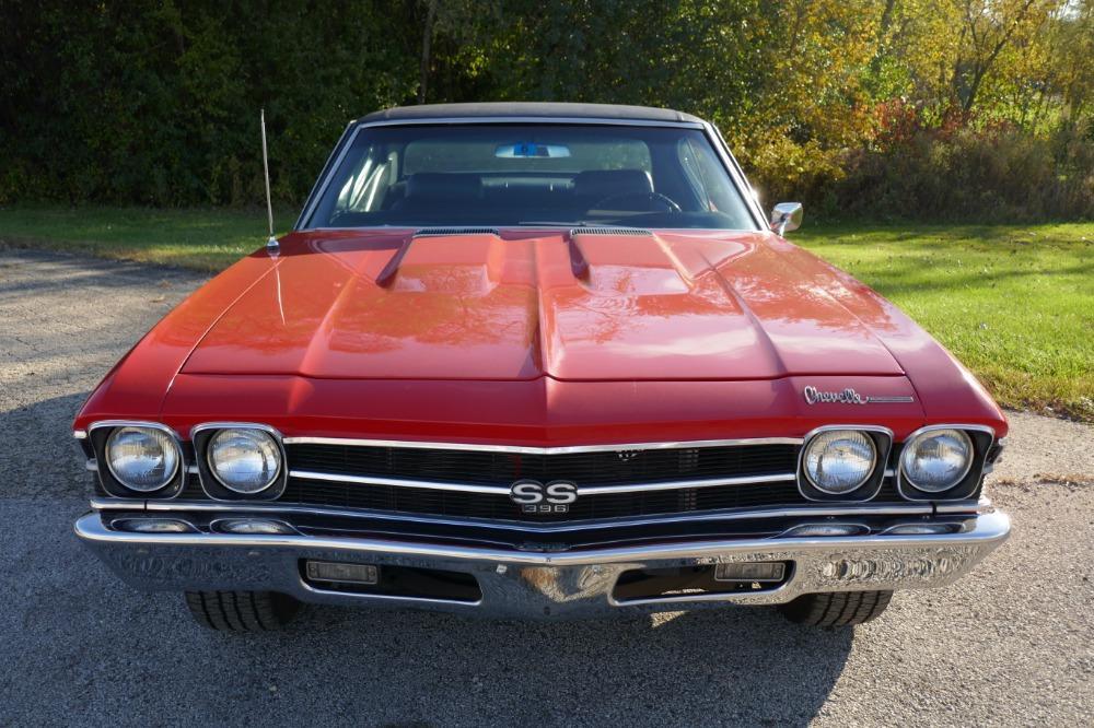 1969 Chevrolet Chevelle -SS396-HUGGER ORANGE-WITH 4 SPEED- Stock # 39669NSC for sale near Mundelein, IL | IL Chevrolet Dealer #3