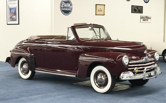 1946 FORD SUPER DELUXE 8 CONVERTIBLE #0