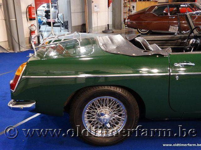 MG B Roadster Green '66 #14