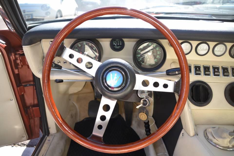1972 MASERATI Ghibli 4.9L SS Coupe #5
