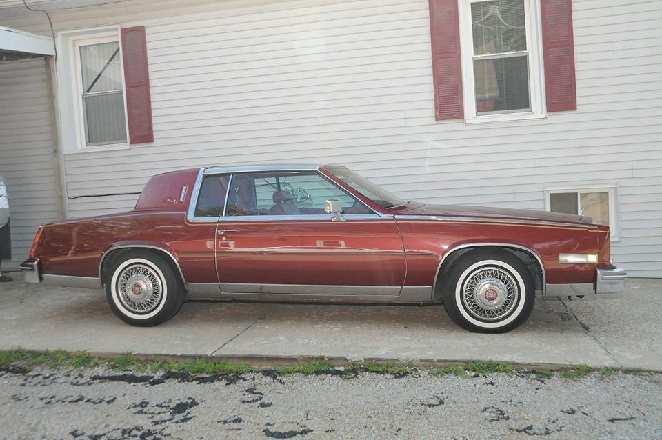 1984 Cadillac El Dorado -BIARRITZ EDITION- 48,500 ORIGINAL MILES- Stock # 841CV for sale near Mundelein, IL | IL Cadillac Dealer #2