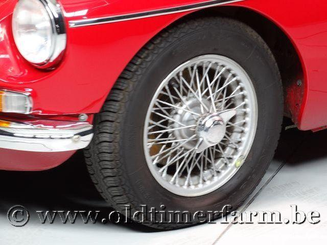 MG B Roadster Red '67 #126