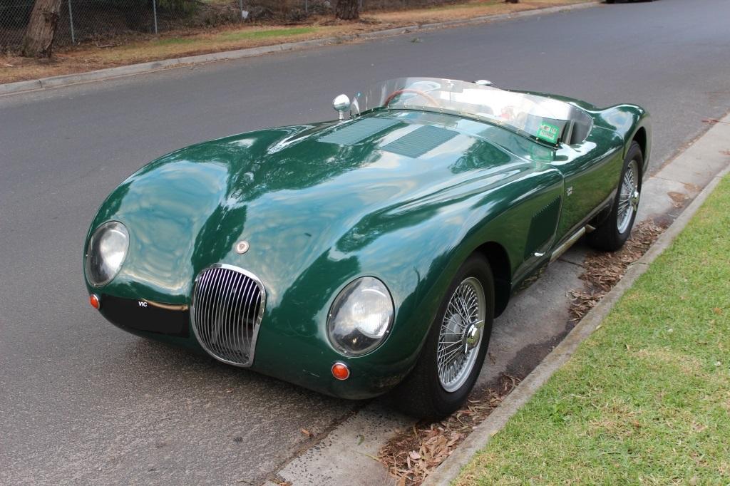 """Jaguar """"C"""" Type replica #2"""