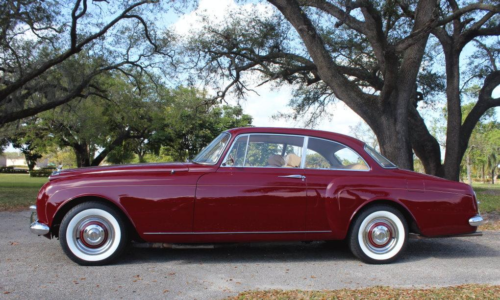"1960 Bentley S-2 Continental H.J. Mulliner ""Spur Coupe"" #BC39LAR – 8,942 Km (Approximately 5,365 miles) since 1st restoration in 1990 #1"