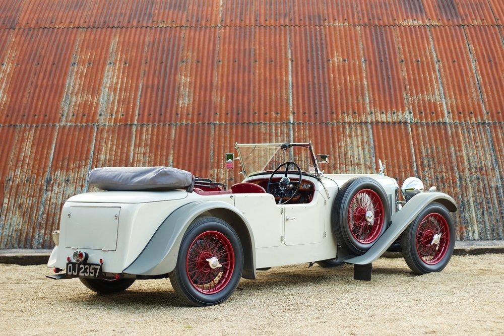 1932 Alvis Speed 20 SA 4-Door Tourer by Cross & Ellis #4