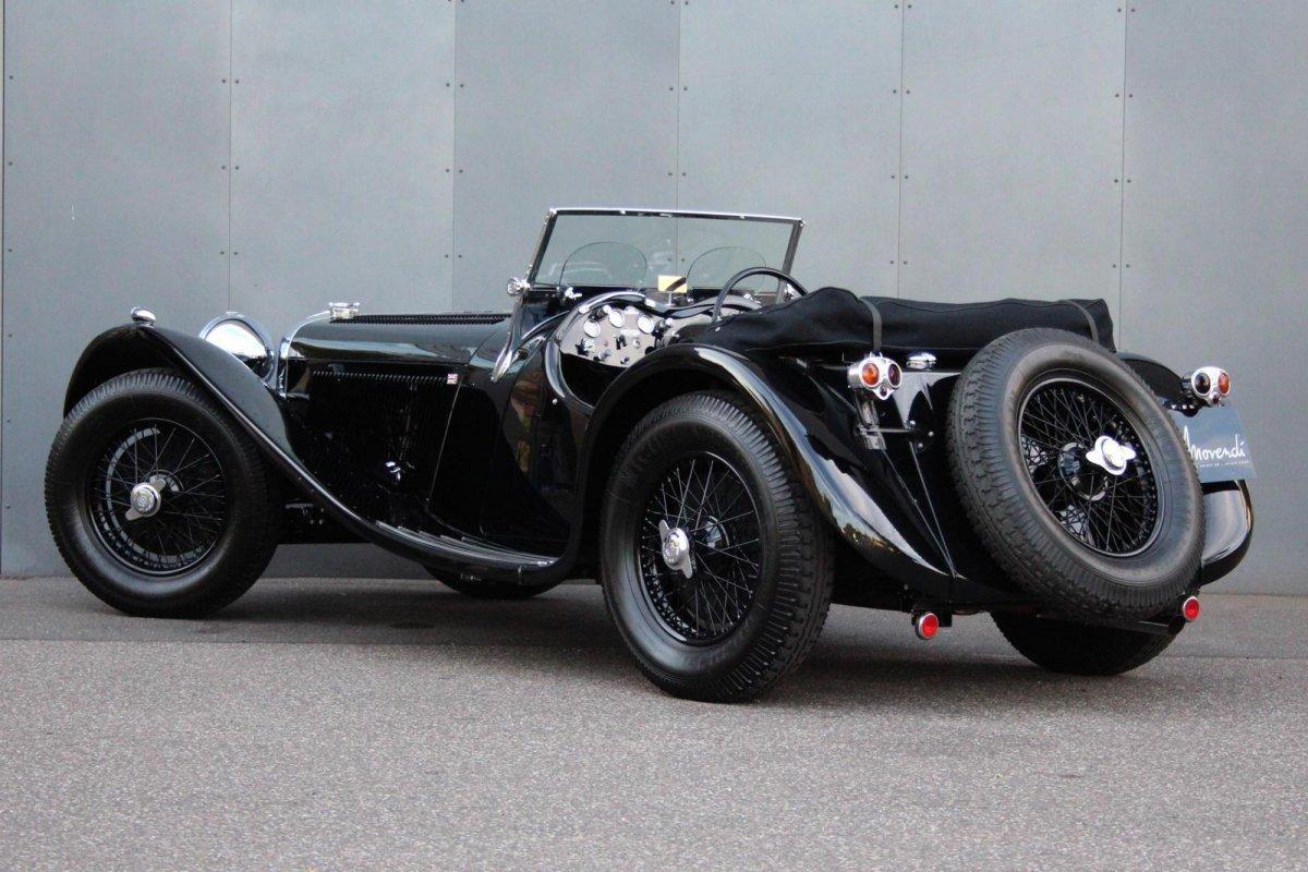 Jaguar SS 100 2,5 litre #16