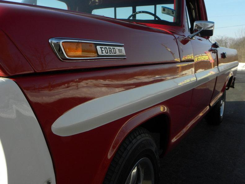 1969 Ford F100 Deluxe Styleside Pickup #10