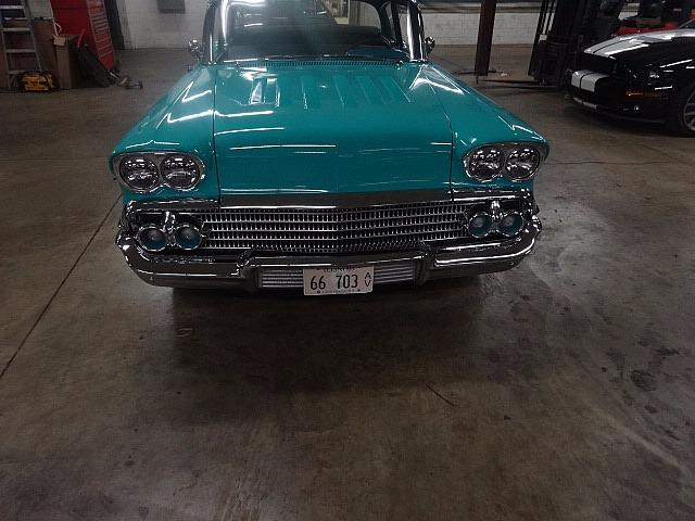 1958 Chevrolet Biscayne -RUNS PERFECTLY- Stock # 58350ILKF for sale near Mundelein, IL | IL Chevrolet Dealer #2