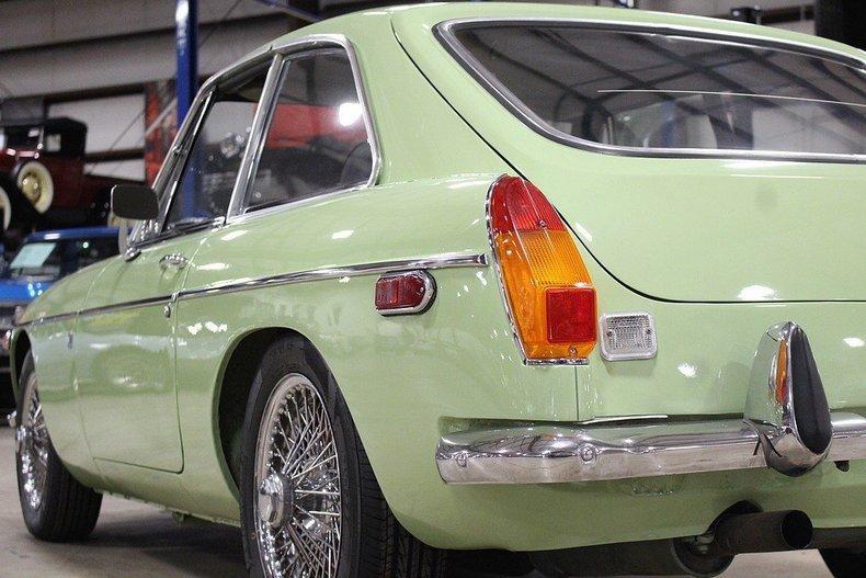 1970 MG MGB GT #28