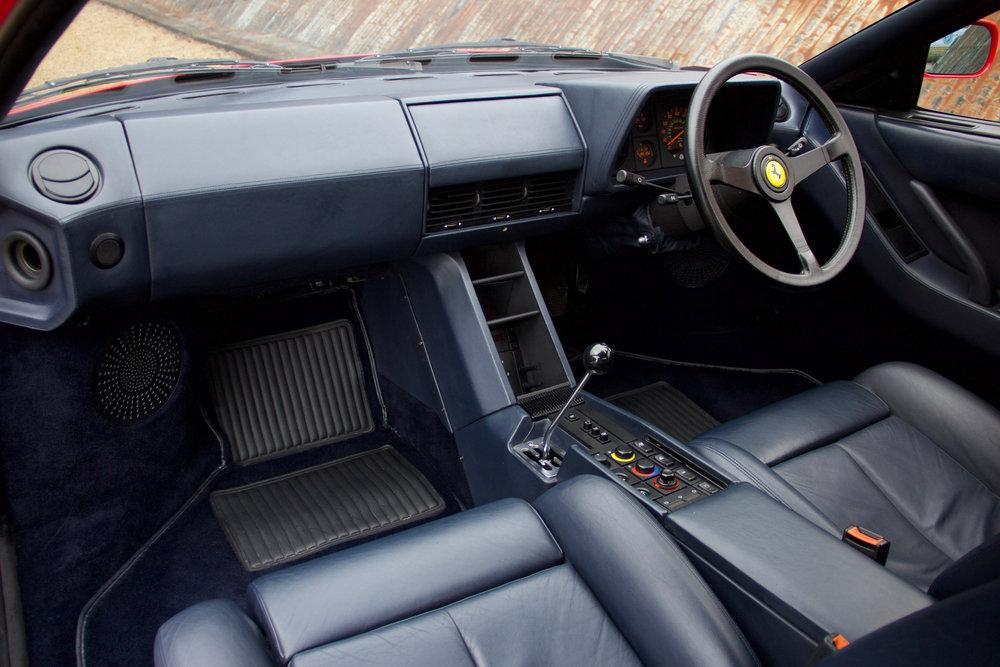 1988 Ferrari Testarossa RHD Rosso Corsa with Blu Scuro #21
