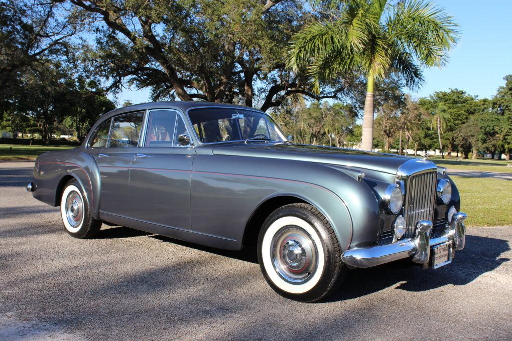 1960 BENTLEY S2 CONTINENTAL H.J. MULLINER STYLE 7508 FLYING SPUR #BC66LAR – 97,353 km (58,411 miles) #1