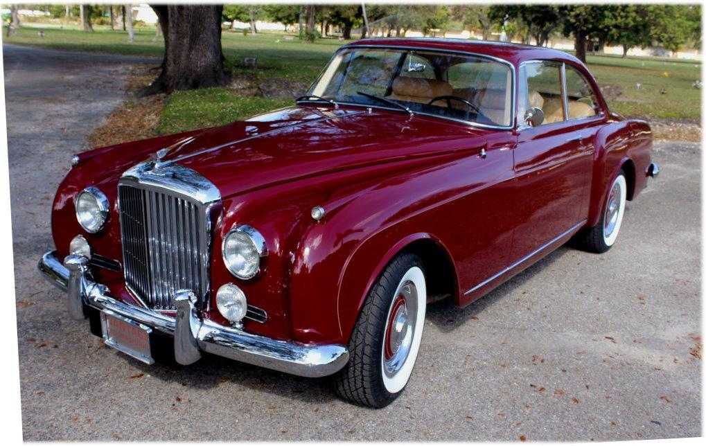 "1960 Bentley S-2 Continental H.J. Mulliner ""Spur Coupe"" #BC39LAR – 8,942 Km (Approximately 5,365 miles) since 1st restoration in 1990 #0"