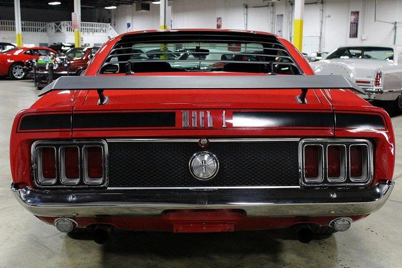 1970 Ford Mustang Mach 1 #3