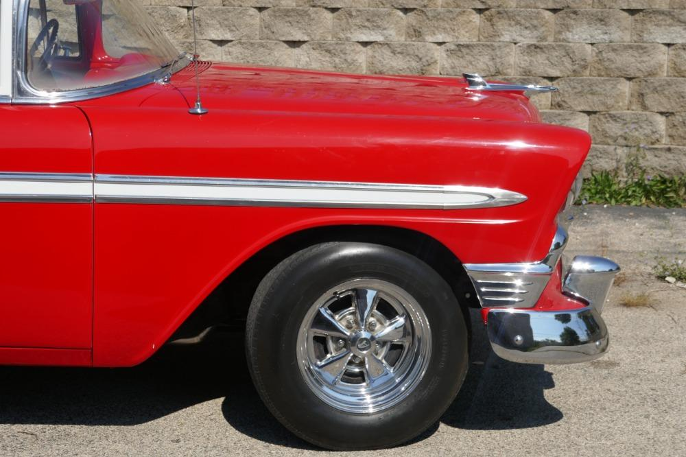 1956 Chevrolet Bel Air -RESTORED SOUTHERN BEL AIR TRI FIVE- GREAT CONDITION-SEE VIDEO Stock # 28356WAC for sale near Mundelein, IL | IL Chevrolet Dealer #13