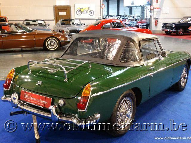 MG B Roadster Green '66 #118