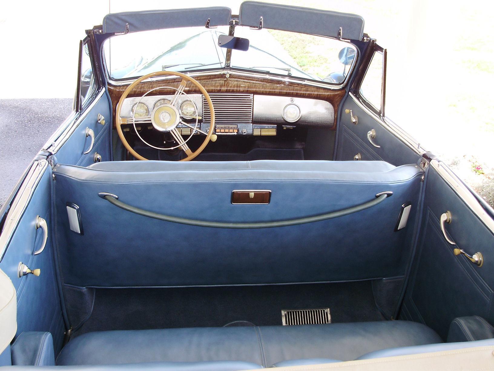 1940 BUICK CENTURY CONVERTIBLE SEDAN - Vintage Motors of Sarasota Inc. #22