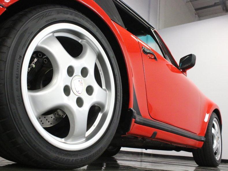 1988 Porsche 911 Turbo Cabriolet #21