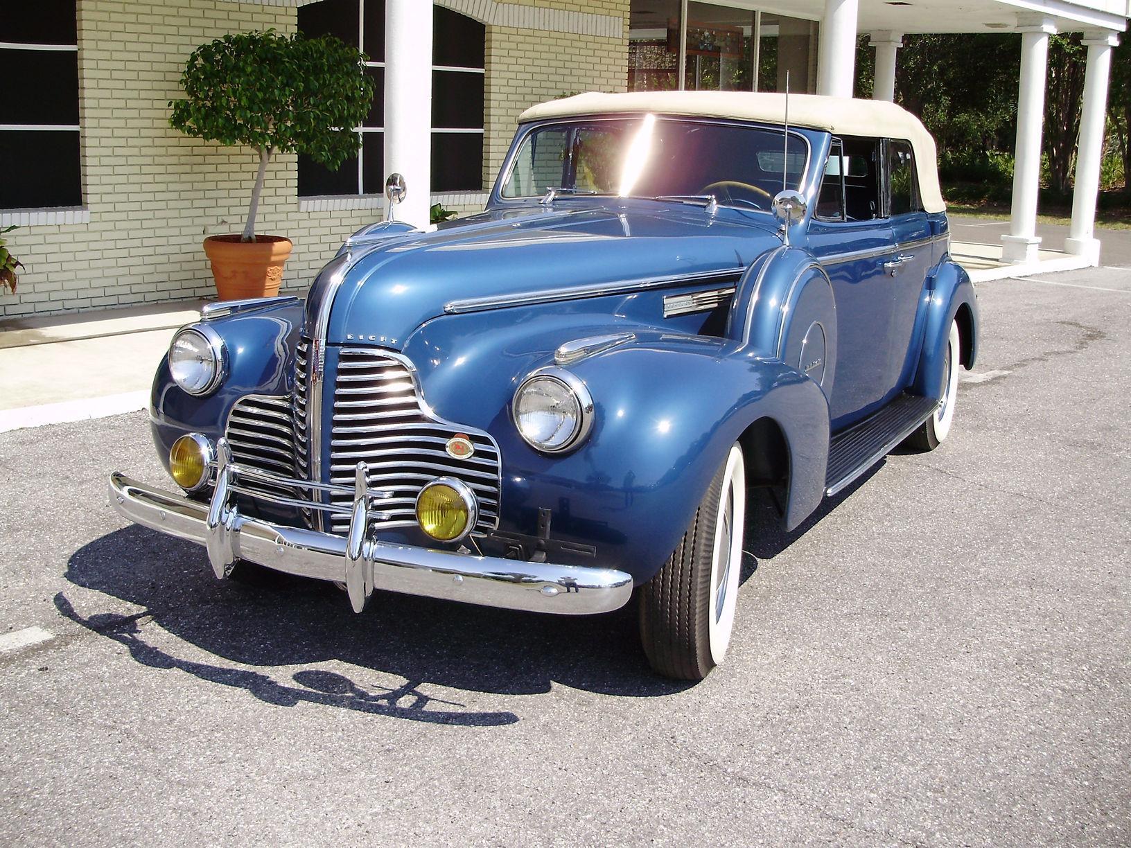 1940 BUICK CENTURY CONVERTIBLE SEDAN - Vintage Motors of Sarasota Inc. #12