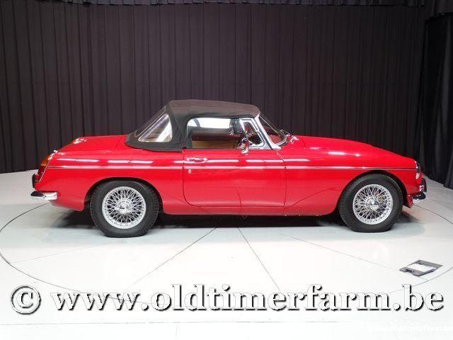 MG B Roadster Red '67 #202