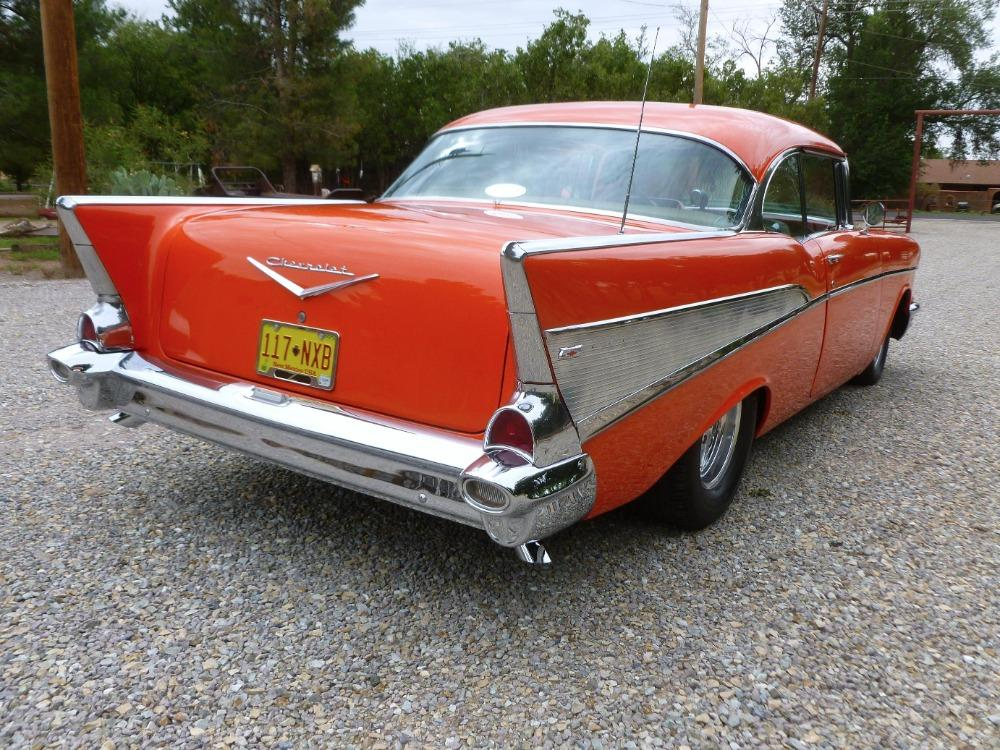 1957 Chevrolet Bel Air -400 HP - MSD - BUCKET SEATS- GREAT QUALITY DRIVER- Stock # 38357SAL for sale near Mundelein, IL | IL Chevrolet Dealer #2