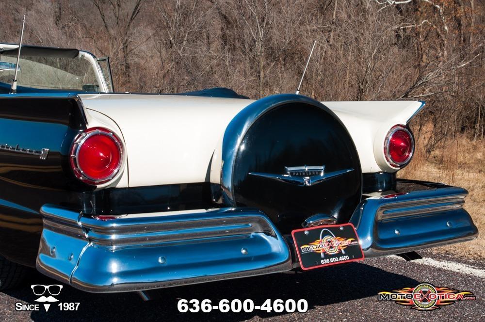 1957 Ford Fairlane 500 Sunliner Restomod #39