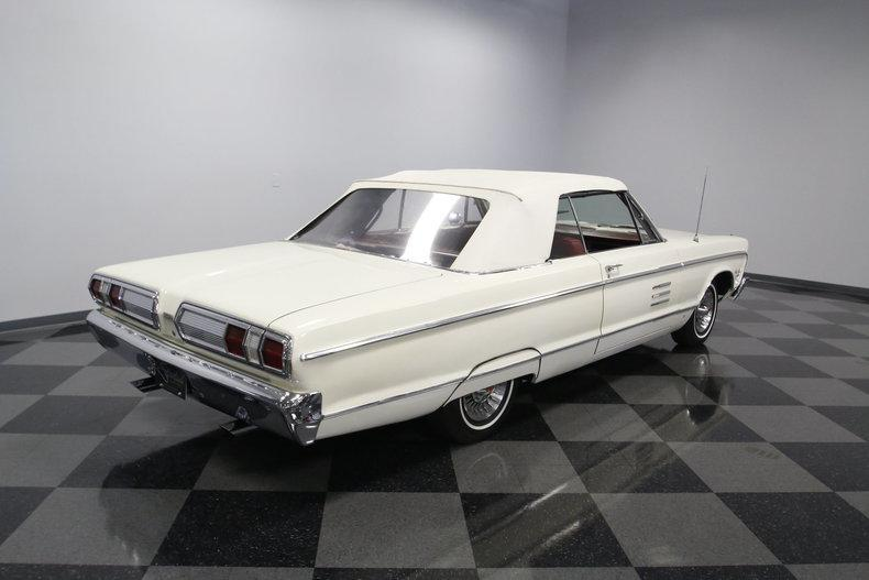 1966 Plymouth Sport Fury Convertible #17