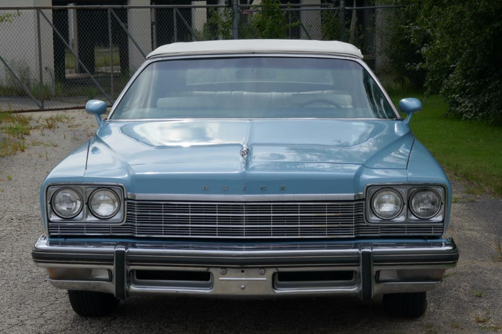1975 Buick LeSabre -PRICE DROP - CONVERTIBLE -SUPER LOW MILES- NEW PAINT 2017-SEE VIDEO Stock # 75ILKF for sale near Mundelein, IL | IL Buick Dealer #10